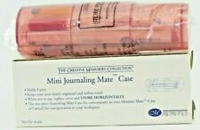 New - Creative Memories Mini Journaling Mate Case with 8 Pens Fine and Round Tip