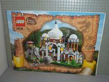 LEGO Notice de Montage Instruction Set 7418-1: Scorpion Palace