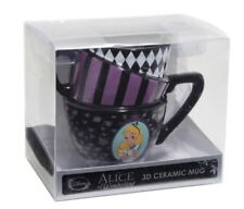 Disney Alice In Wonderland Stacked 3D Figural Ceramic Mug 20oz. Coffee Mug NIB!