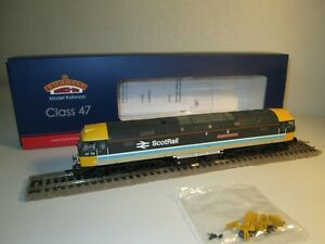 BACHMANN OO GAUGE 31-653RJ CLASS 47 712 LADY DIANA SPENCER BR SCOTRAIL LIVERY
