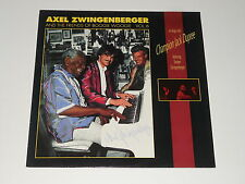 Axel Zwingenberger - SIGNED LP - On Stage With Champion Jack Dupree - DE 1990