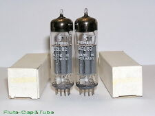 NOS MB 1962's SIEMENS- Telefunken ECL82  6BM8 <> Matched Pair tubes