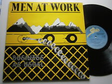 MEN AT WORK: Business As Usual (CBS)  1982 LP