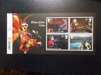 GB 2019 Commemorative Stamps~Elton John~M/S~Unmounted Mint Set~ UK