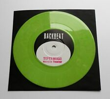 "Supergrass - Man Size Rooster UK 1994 Backbeat Lime Green 7"" Single"