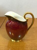 "Vintage Carlton Ware Rouge Royale Pitcher Jug 6.5"" tall"