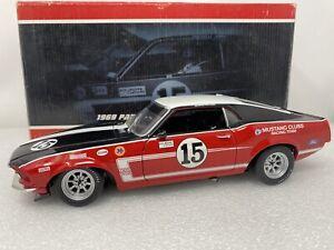 1/18 Replicarz Welly 1969 Ford Mustang Boss 302 Parnelli Jones Trans AM Read Me