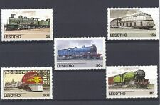 Lesotho 1984 SG 605-9 Railways MNH