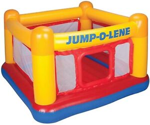 New Intex Jump-O-Lene Bouncy Castle Bouncer Play House