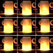 E27 Dynamic Flame Effect LED Corn light Bulb Lamp 110V 220V Gas Lantern Decorati