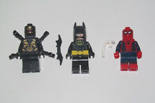 Lego ® Lot x3 Minifig Figurine Super Heroes Batman + Spiderman + Outriders NEW