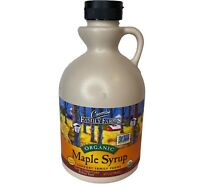 Coombs Maple Syrup Organic Grade A, Dark Color, Robust Taste 32Oz (FORMERLY G B)