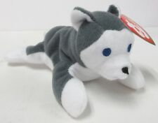 "Ty Teenie Beanie Baby ""Nook, the Husky"" #11 of 12 - 1999 Series - New in Bag"