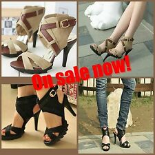 Party Strappy Medium Width (B, M) Unbranded Heels for Women