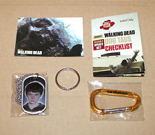 The Walking Dead  Carl Grimes  Dog Tag & Sticker / Aufkleber