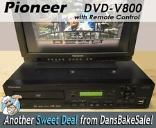 Pioneer DVD-V8000 DVD Disc Player Industrial Standard NTSC & PAL w/ Remote NICE!