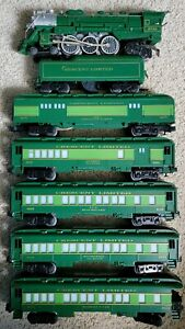Lionel 6-8702 Southern Crescent Limited Engine & Illuminated Passenger Cars Set