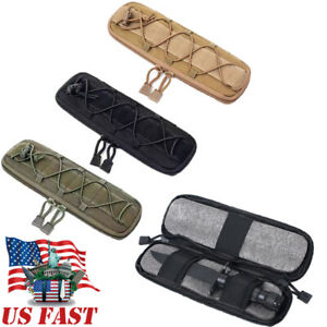 Tactical Molle Knife Pouch Holder EDC Accessories Military Outdoor Hunting Bags