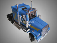 1:32  Scale American Western Star 4900 Heavy Truck Tractor Truck Paper Mold Kit