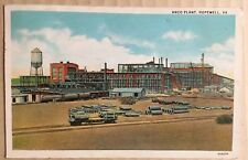 ANCO Plant Hopewell VA Postcard ANCO Allied Chemical Signal Honeywell