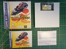 NEW GAME BOY GAMEBOY ADVANCE GBA BOXED BOITE MOTORACER MOTO RACER ADVANCE -EUR