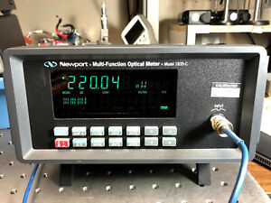 Newport 1835-C High Performance Laser Optical Power Meter Tested Working