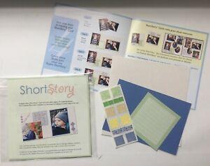 Creative Memories Lot of 3 KITS Short Story Card card stickers photo mat, etc.