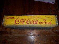 Antique Primitive Coca Cola Crate