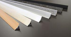 👑 3 m - ABSCHLUSSLEISTEN Wandabschlussleiste Küche Arbeitsplatte Winkelleisten
