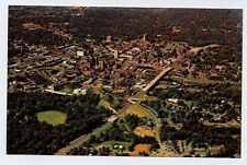 GREENVILLE SC early Town Aerial View postcard