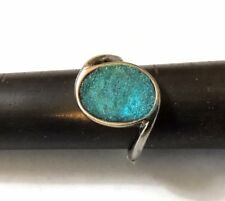 Support Your Love Ones 1 OVARIAN CANCER TEAL RIBBON AWARENESS RING ALL NEW.
