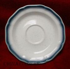 MIKASA china COUNTRY CLUB CA500 pattern Set of Four (4) Saucers