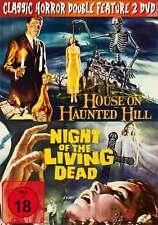 Horror Klassiker Box HOUSE ON HAUNTED HILL + NIGHT OF THE LIVING DEAD DVD Box