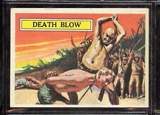 BATTLE  Topps Gum  trading card #39 dEATH bLOW nORM sAUNDERS www