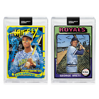 2-Card Bundle - Topps PROJECT 2020 Cards 231-232 George Brett Ken Griffey Jr.