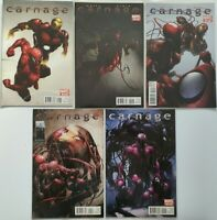 MARVEL Comics: Carnage Marvel Limited Series Complete  #1 #2 #3 #4 #5 (2011) MC2