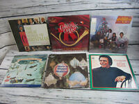 Lot of 6 Christmas Vinyl Albums LP VG+ Holiday 7