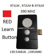 Craftsman Garage Door Opener 3 button Remote HBW1255 139.53681B 390MHz