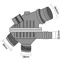 TRIDON Std Thermostat For BMW 325i E90 - E93 01/05-12/10 2.5L N52 B25