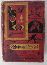 MODERN MAGIC A Practical Treatise on the Art of Conjuring RARE 1st Edition 1878