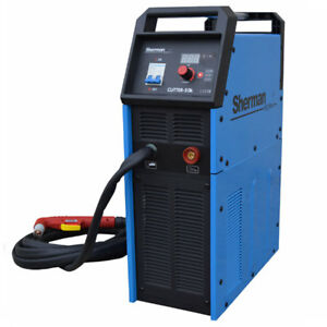 50K Sherman Plasma Cutter with Compressor Thickness cut 12mm! 45A max 1PHASE!