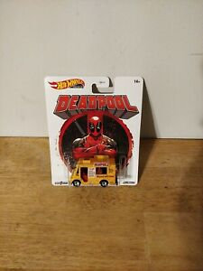 Hot Wheels 2020 Premium Marvel DEADPOOL CHIMICHANGA TRUCK  REAL RIDERS SERIES
