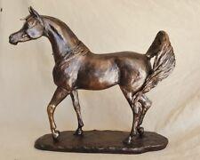 Whisper, Arabian Horse Sculpture, Figurine, Trophy, Statue