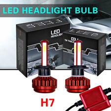 2 PCS Headlight Headlamps Bulbs Lamp Front Low Beam 6000K For 2009-2017 Audi A3