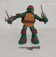 Teenage Mutant Ninja Turtles - Raphael Action Figure Battle Shell TMNT Complete