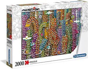 Clementoni 2000 Piece  Jigsaw Puzzle - Mordillo The Jungle