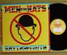 MEN WITHOUT HATS, RHYTHM OF YOUTH, LP 1982 UK 1ST PRESS A-1U/B1 NM/NM