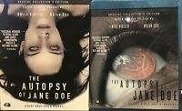 Autopsy of Jane Doe Collectors Edition Blu-ray SLIPCOVER NEW SEALED Raven Banner