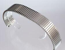 Uhrenarmband Flexband Zugarmband Silber Edelstahl 20 mm neu