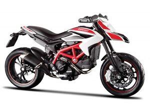Ducati Hypermotard Sp 2013 Maisto 1:12 Motorcycle Model Die Cast Model